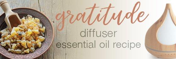 Gratitude Diffuser Recipe