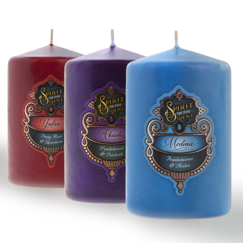 SPIRIT OF THE ORIENT CANDLES