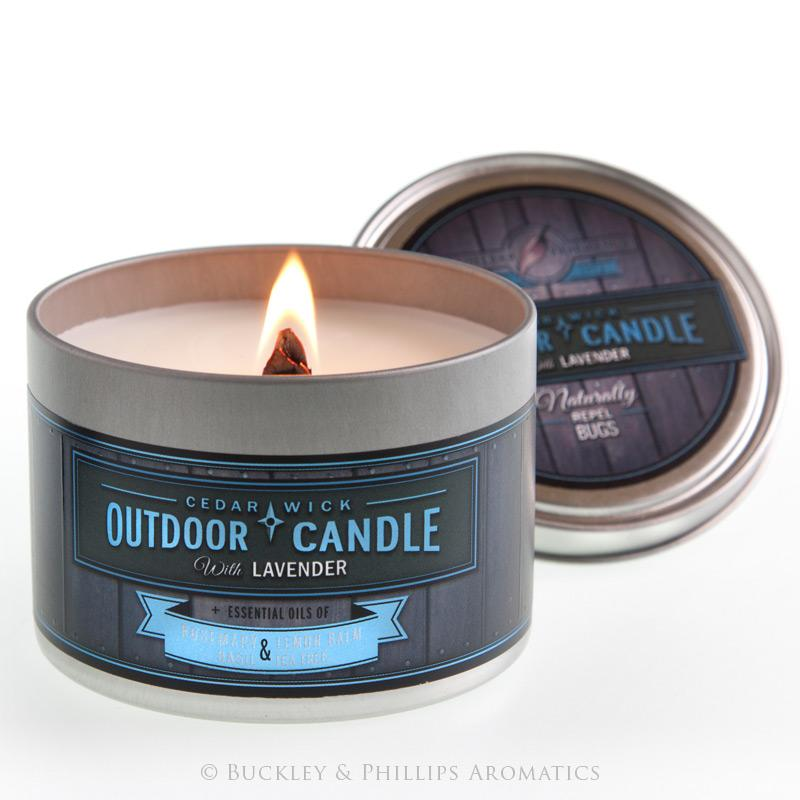 LAVENDER OUTDOOR CANDLE