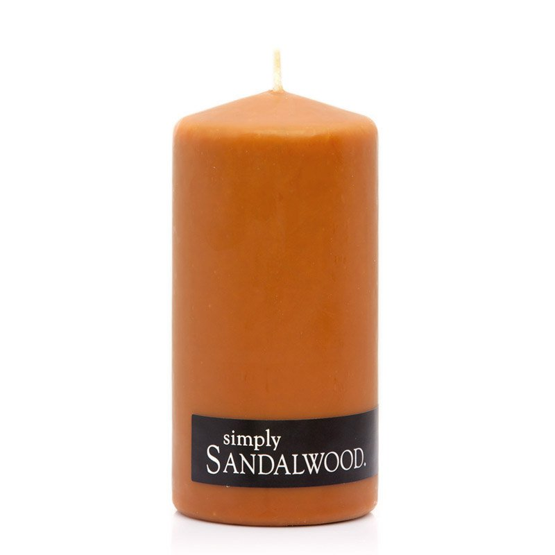 SANDALWOOD PILLAR CANDLE