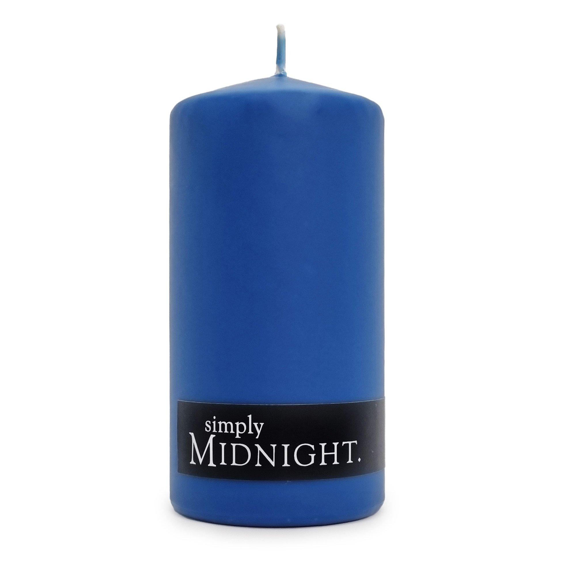 AMBER PILLAR CANDLE