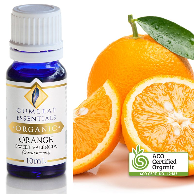ORGANIC ORANGE SWEET VALENCIA ESSENTIAL OIL