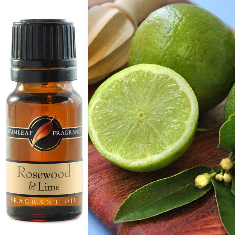 ROSEWOOD & LIME FRAGRANCE OIL