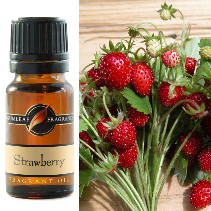 how to make strawberry fragrance oil