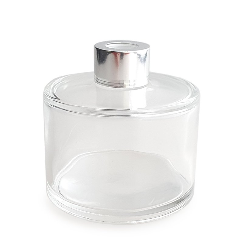 CLEAR GLASS DIFFUSER BOTTLE SHORT