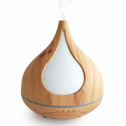 ULTRASONIC MIST DIFFUSER WOODGRAIN LIGHT