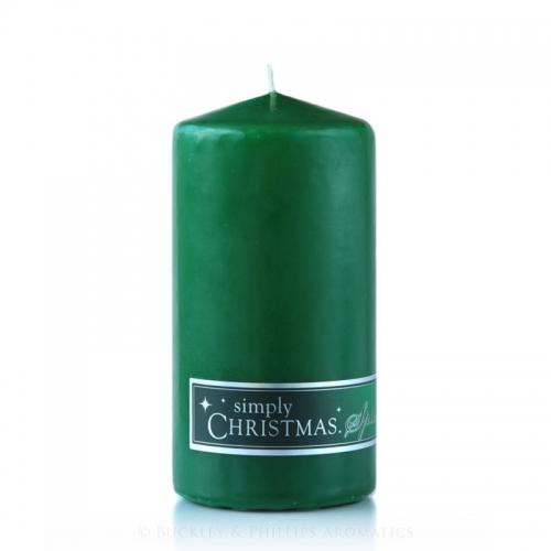 CHRISTMAS SPICE PILLAR CANDLE