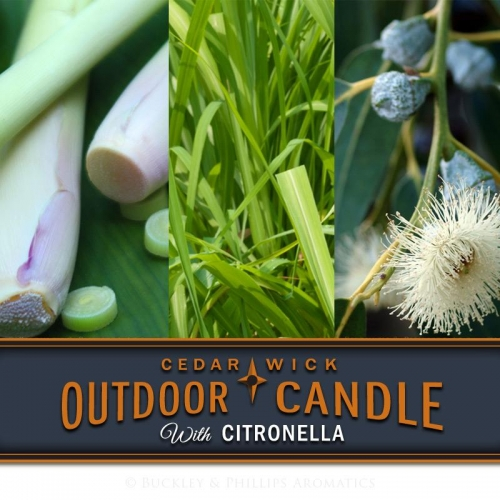 CITRONELLA OUTDOOR CANDLE