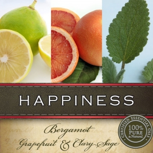 HAPPINESS ARTISAN CANDLE