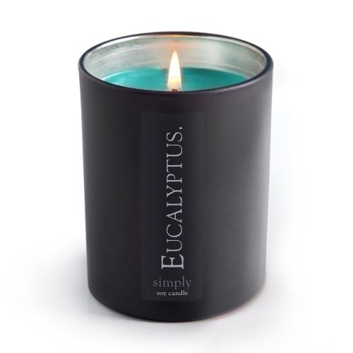 EUCALYPTUS SOY JAR CANDLE