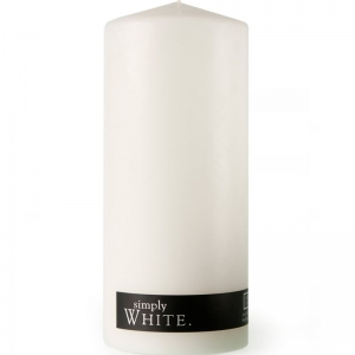 WHITE PILLAR CANDLE X-LARGE