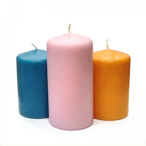 SMALL SECONDS PILLAR CANDLE 3-PACK