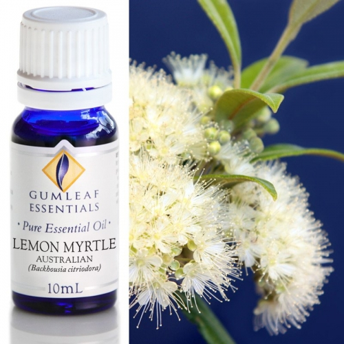 LEMON MYRTLE AUSTRALIAN ESSENTIAL OIL