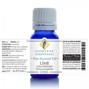 LIME COLD PRESSED ESSENTIAL OIL