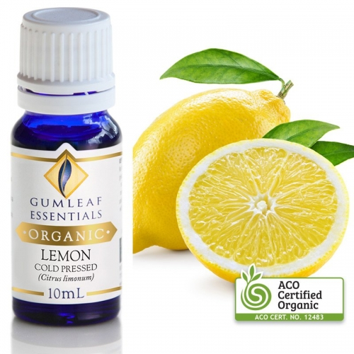 ORGANIC LEMON COLD PRESSED ESSENTIAL OIL