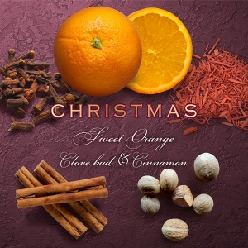 SWEET ORANGE & CLOVE BUD CHRISTMAS SCENT CAKE (SINGLE)
