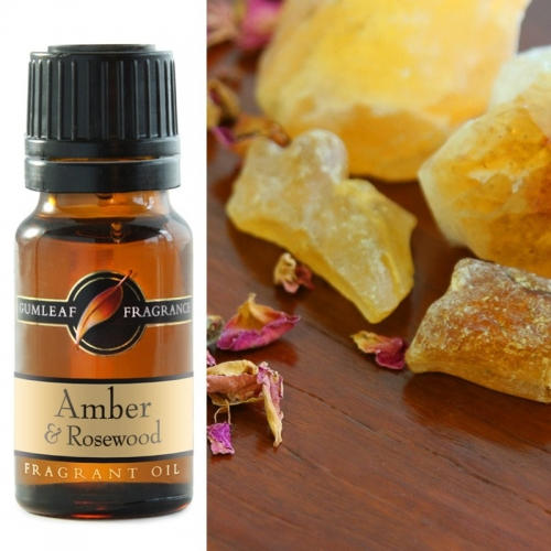 AMBER & ROSEWOOD FRAGRANCE OIL