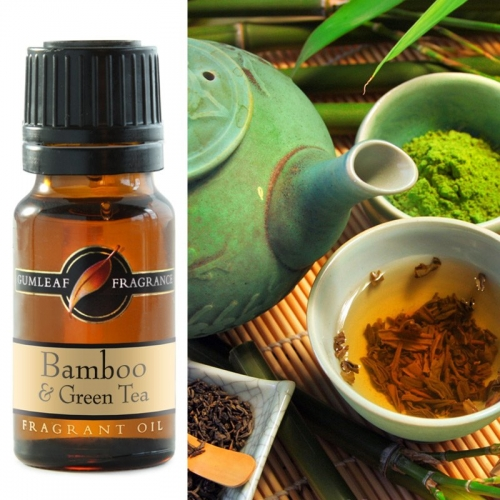 BAMBOO & GREEN TEA FRAGRANCE OIL