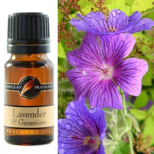 LAVENDER & GERANIUM FRAGRANCE OIL