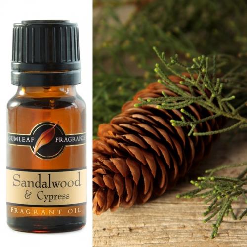 SANDALWOOD & CYPRESS FRAGRANCE OIL