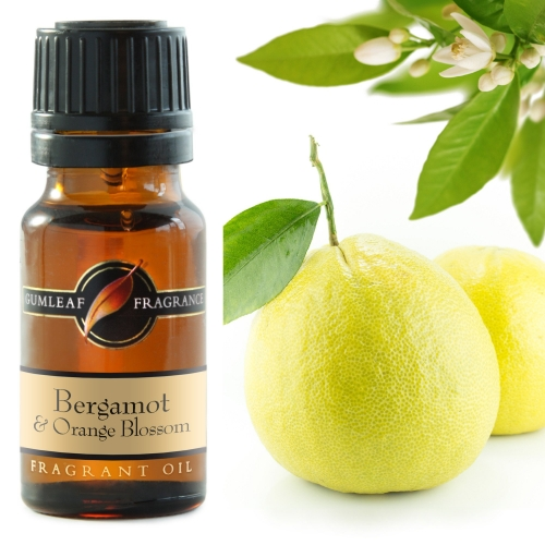 BERGAMOT & ORANGE BLOSSOM FRAGRANCE OIL
