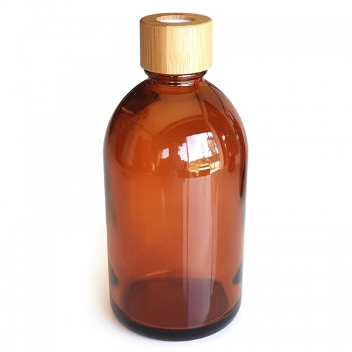 AMBER GLASS DIFFUSER BOTTLE