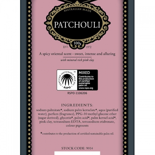 PATCHOULI SOAP (SINGLE)