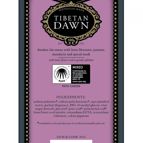TIBETAN DAWN SOAP (SINGLE)